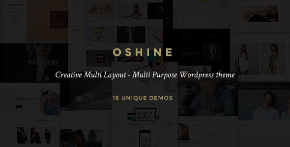 Oshine - Creative Multi-Purpose WordPress Theme