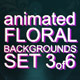 Animated Floral Backgrounds #3 - VideoHive Item for Sale