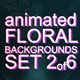 Animated Floral Backgrounds #2 - VideoHive Item for Sale