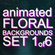 Animated Floral Backgrounds #1 - VideoHive Item for Sale