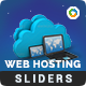 Web Hosting Sliders - 2 Designs - GraphicRiver Item for Sale