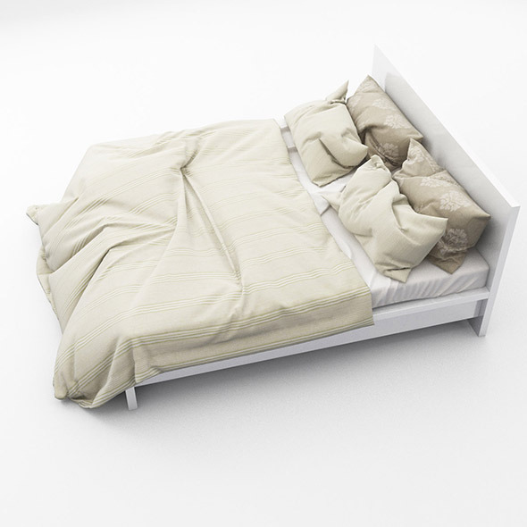 Bed 07 - 3DOcean Item for Sale