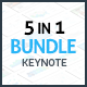 5-in-1 Keynote Presentation Bundle - GraphicRiver Item for Sale