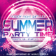 Summer Party Time Flyer - GraphicRiver Item for Sale