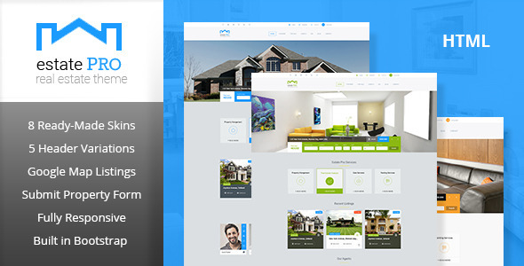 Estate Pro - Real Estate HTML Template
