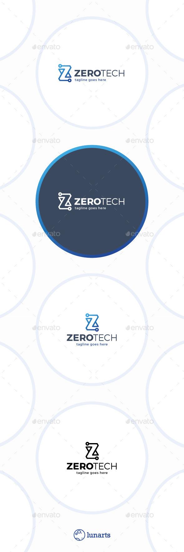 Zero Technology Logo • Letter Z