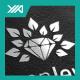 Natural Jewel - Green Gem Logo - GraphicRiver Item for Sale