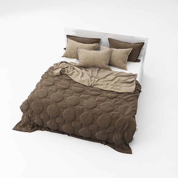 Bed 08 - 3DOcean Item for Sale
