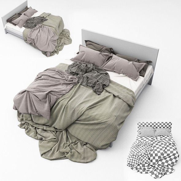Bed 15 - 3DOcean Item for Sale