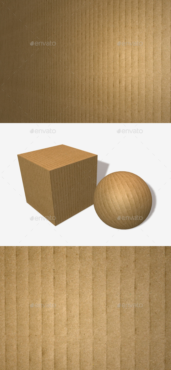 Cardboard Seamless Texture - 3DOcean Item for Sale