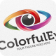 Colorful Eye - Logo Template Vol. 02 - GraphicRiver Item for Sale