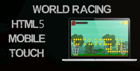 World Racing - Html5 Mobile Game - CodeCanyon Item for Sale