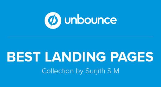 Best Unbounce Landing Page Templates