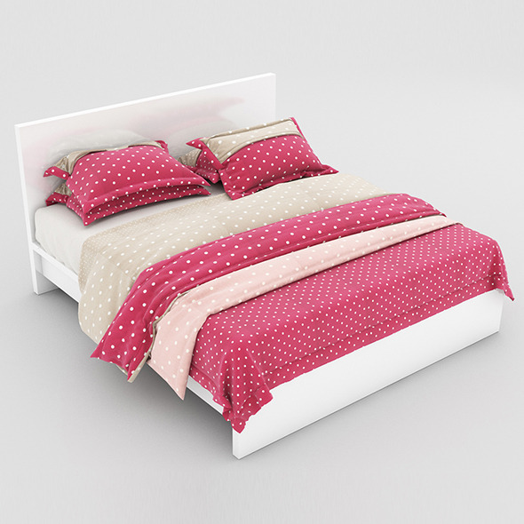 Bed 22 - 3DOcean Item for Sale