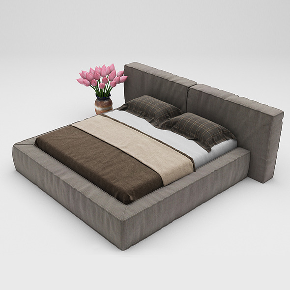Bed 24 - 3DOcean Item for Sale
