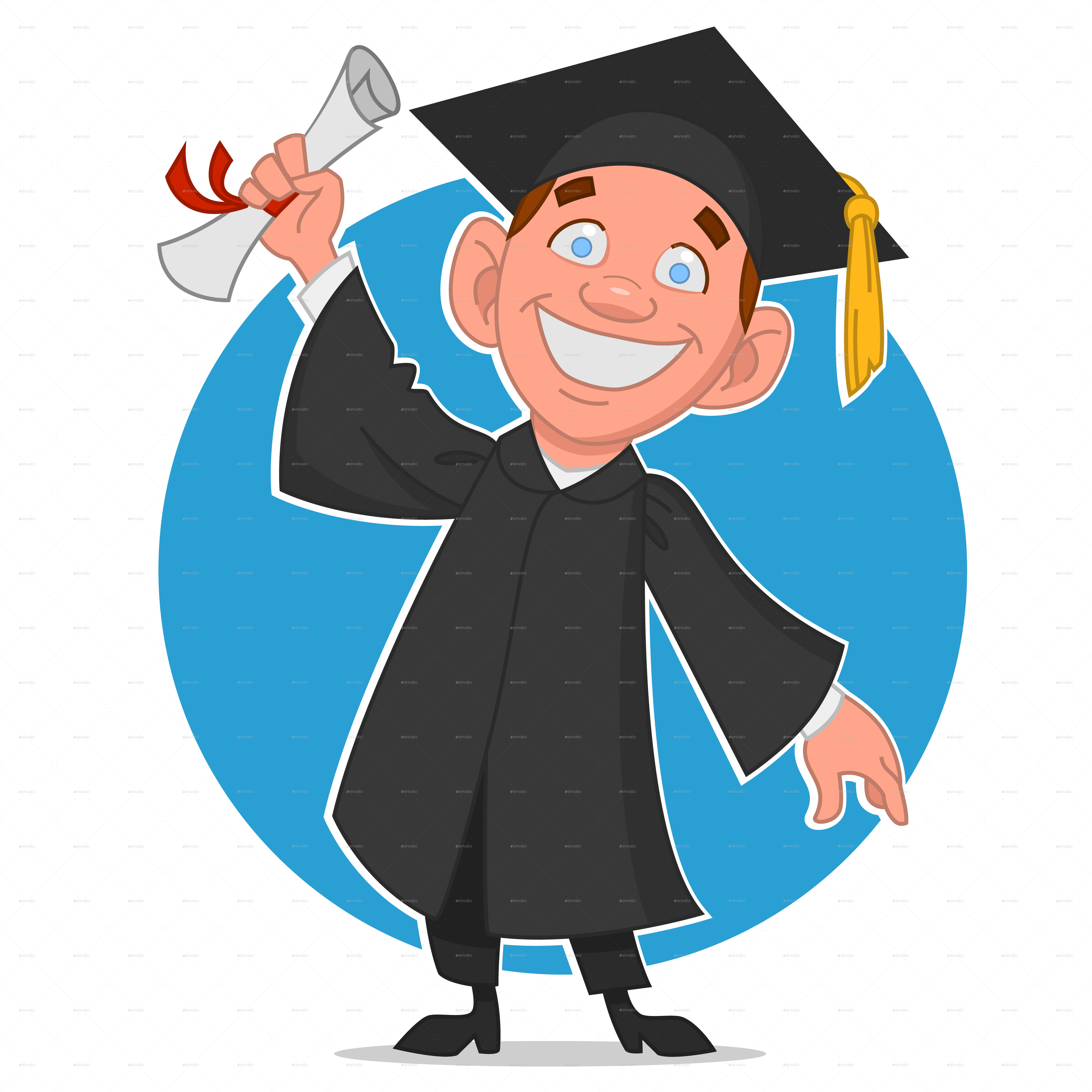 Graduate  >> Graduate With A Diploma By Gatts Graphicriver