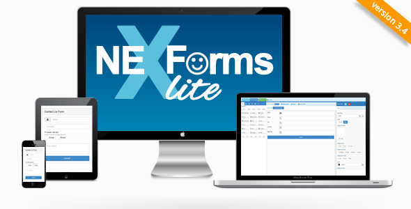 NEX-Forms Lite - WordPress Form Builder Plugin - CodeCanyon Item for Sale