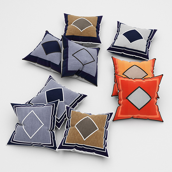 Pillows 52 - 3DOcean Item for Sale