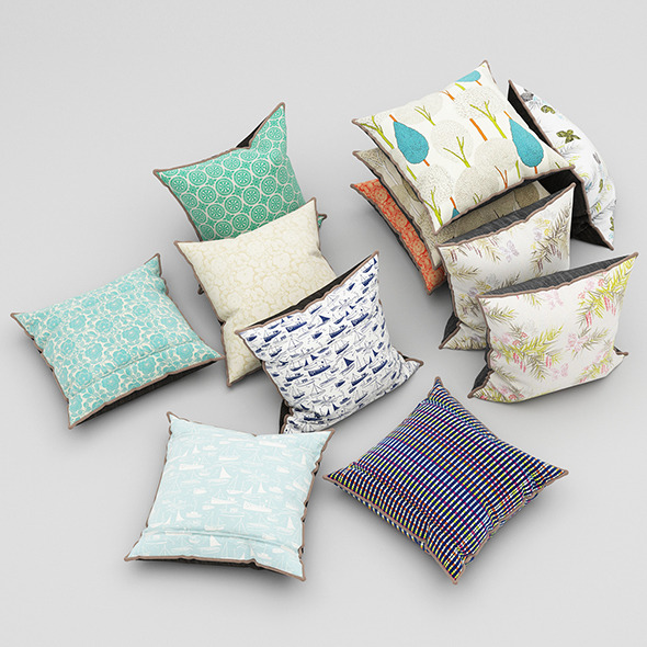 Pillows 48 - 3DOcean Item for Sale