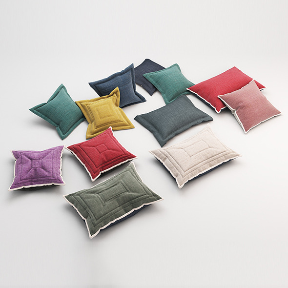 Pillows 60 - 3DOcean Item for Sale