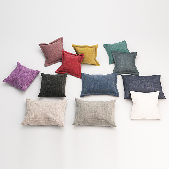 Pillows 61 - 3DOcean Item for Sale