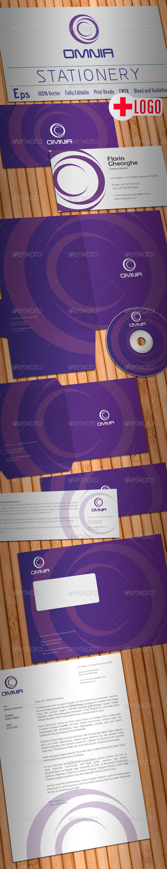 Omnia Stationery - Stationery Print Templates