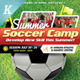 Soccer Camp Flyer Templates - GraphicRiver Item for Sale