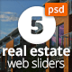 Real Estate Web Sliders - GraphicRiver Item for Sale