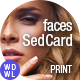 faces // Beauty SedCards - Be a Brand - GraphicRiver Item for Sale