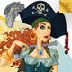 Pirate Woman - GraphicRiver Item for Sale
