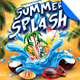 Summer Splash Party Flyer Template