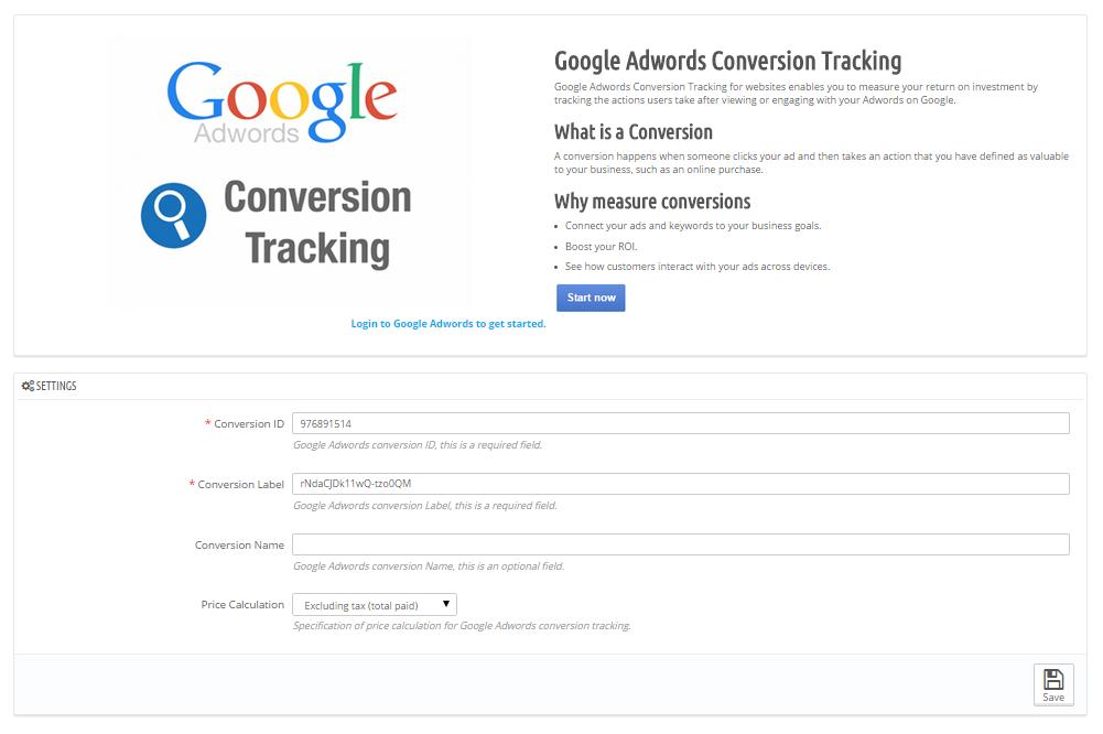 google adwords conversion tracking by modmyprestashop codecanyon. Black Bedroom Furniture Sets. Home Design Ideas