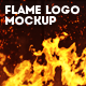 Flame Logo Mockup - GraphicRiver Item for Sale