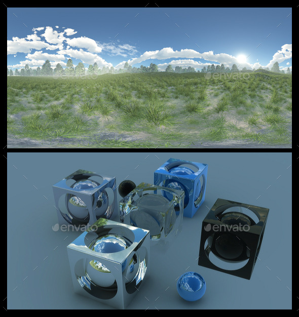 Meadow - HDRI - 3DOcean Item for Sale