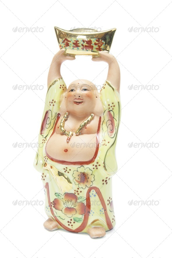 Chinese Buddha Ornament - Stock Photo - Images