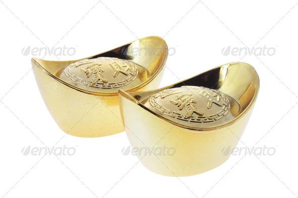 Gold Ingots - Stock Photo - Images