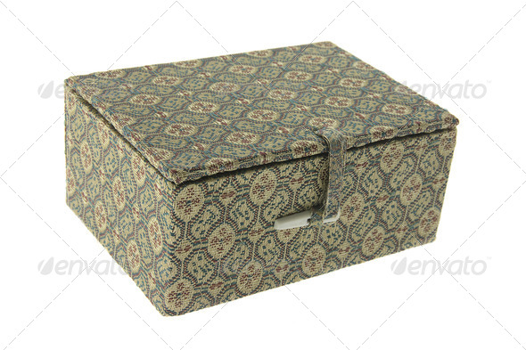 Oriental Gift Box - Stock Photo - Images