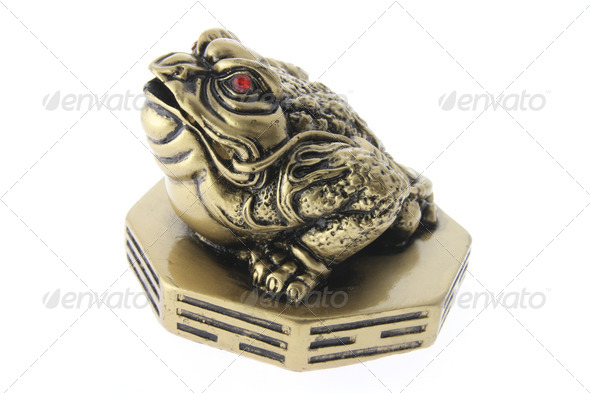 Chinese Money Frog Ornament - Stock Photo - Images