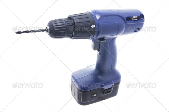 Electrc Drill - Stock Photo - Images