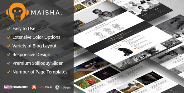 Maisha - Charity/Non-Profit WordPress Theme - Charity Nonprofit