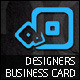 Designers Business Cards - GraphicRiver Item for Sale