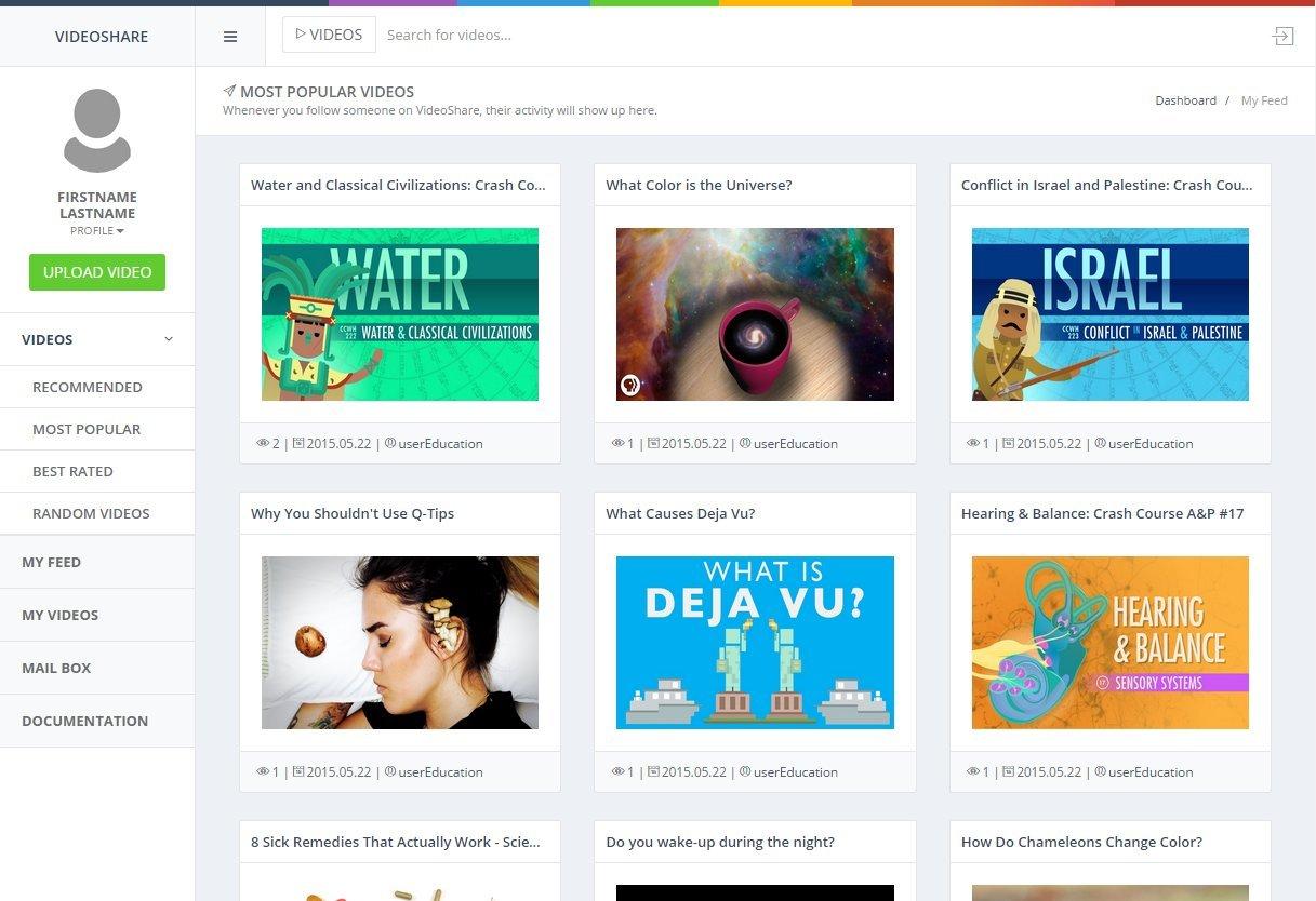 VideoShare - Video Sharing Platform