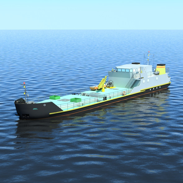 Environmental Ship - 3DOcean Item for Sale