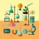 Scientific Research Laboratory Template Poster - GraphicRiver Item for Sale