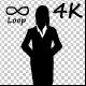 Businesswomen Cross One's Arm - 78