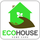 Eco House Logo Template - GraphicRiver Item for Sale