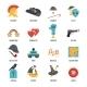 Film Genres Icon Set