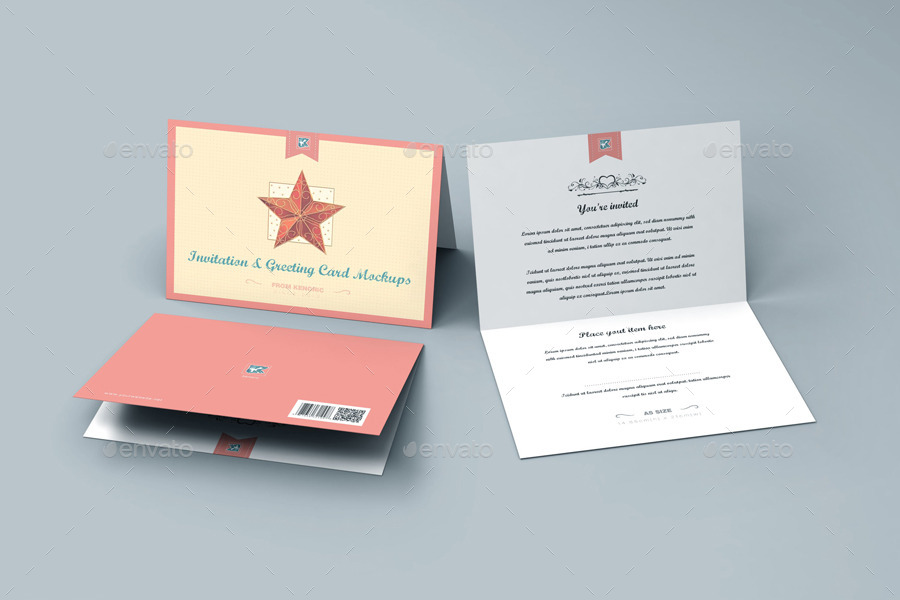 Greeting card mockup selol ink greeting card mockup m4hsunfo