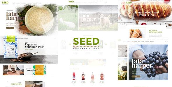 SEED – Organic PSD Template