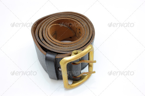 Brown belt - Stock Photo - Images